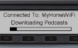 Coche Podcast downloader y jugador
