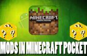 Mods en Minecraft Pocket Edition! (Sólo para android) NO ROOT