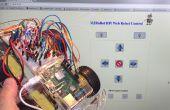 IoT - controlar un Raspberry Pi Robot por internet con HTML y shell scripts sólo