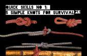 Habilidades rápidas #1: 5 nudos simples para la supervivencia
