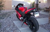 Montura de cámara para una motocicleta (peg trasero)