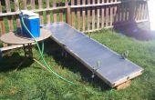 Construir su propio colector termal solar de panel plano