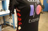 Diseño de la camiseta DIY: diamantes laterales y mangas - NO cosa