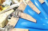 Desgaste de borde para una pala de nieve de plástico