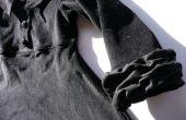 Costura de adorno de técnica: Surcando