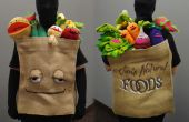 Bolsa de comestibles de Muppet frutas y verduras traje