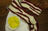 Bacon huevo bufanda/Hoodie