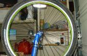 Luz neumáticos de la bici