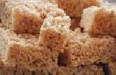 ¿Cómo hacer crocante de arroz