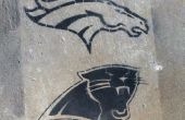 Super Bowl Fan orgullo plantilla temporal