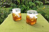 Bien la abeja miel jarabe para la tos