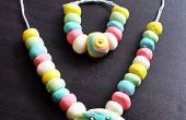 Joyas de caramelo casero para niños