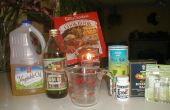 Cómo hacer exfoliantes/hidratante frotar sal
