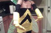 """Disfraz de """"Wasp"""" de un vengador"""