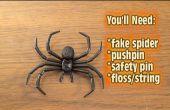 Cómo quitar la araña sobre la broma de la puerta!