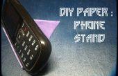 Cómo hacer Origami teléfono soporte