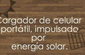 Portable solar del cargador