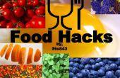 Hacks de alimentos: Preparación, comer, limpieza