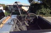Desmontable Bike Rack para camiones caja de herramientas