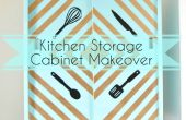 Cocina almacenamiento gabinete maquillaje!!!!