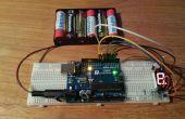 Pantalla de 7 segmentos generador de números aleatorios (RNG SSD)
