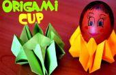 Instrucciones de Pascua - Huevera de papel - origami