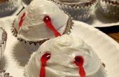 Cupcakes de mordedura de vampiro fácil