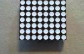 Conectar una matriz de LED 8 x 8 a un protoboard pequeño