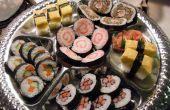 Bonito plato de Sushi