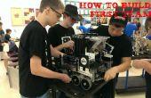 Cómo iniciar un primer equipo de robótica