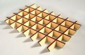 Crear piezas de corte láser que se enclavija cola-less con sketchup slicemodeler