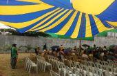 Cómo hacer paracaídas toldo