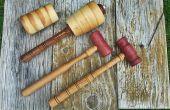 Mazos de artesano para Boutique, carpintería y escultura