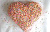 Cómo hacer un pastel de corazón