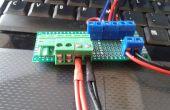 Baja distribución de energía DC de tensión y adaptador de medición