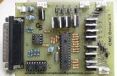 Controlador de puerto paralelo 3 ejes CNC, motores PAP unipolares, Opto-aislado