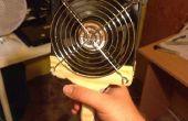Potente ventilador de la batería