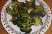 Brócoli asado de horno fácil