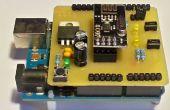 Arduino UNO nRF24L01 + escudo