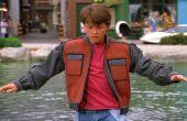 La chaqueta de Marty McFly de espalda a la parte futura II
