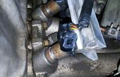 Sustitución de inyectores de combustible (D15B Honda Civic 1999)