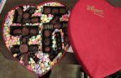 Personalizada corazón Chocolate caja