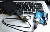 Comunicación serial USB Android Arduino con el cable OTG