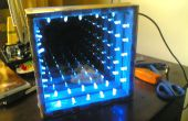 Frío infinito DIY LED túnel