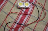 Estroboscópica LED de 20W para aviones RC