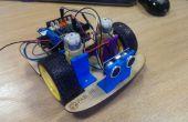 Pared de Arduino evitando robot