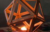 Popsicle Stick icosaedro