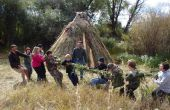 ¿Hacer una cuerda de Tug-O-guerra de hierba - por Thomas J. Elpel