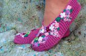 Tejer Zapatillas lila