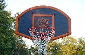 Pintar tu propio objetivo de baloncesto